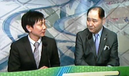 20150915 沢田石アナと尾車親方