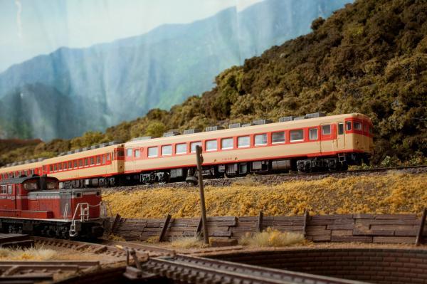 鉄道模型 キハ58 2