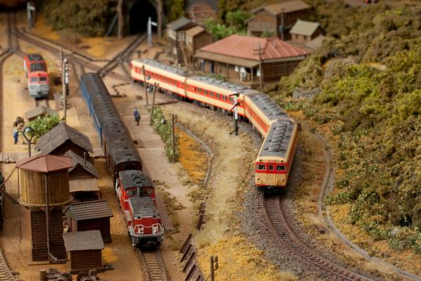 鉄道模型 キハ58