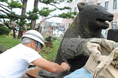 ニッカ熊修復 2015-09-12(7)