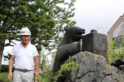 ニッカ熊修復 2015-09-12(19)