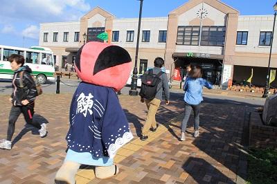 ひまわり号 余市駅 ソーラン武士 2015年9月27日 343