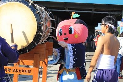ひまわり号 余市駅 ソーラン武士 2015年9月27日 357