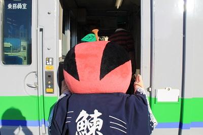 ひまわり号 余市駅 ソーラン武士 2015年9月27日 436