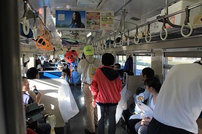ひまわり号 余市駅 ソーラン武士 2015年9月27日 433