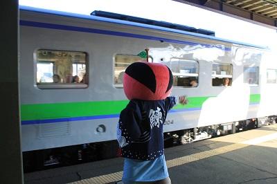 ひまわり号 余市駅 ソーラン武士 2015年9月27日 448
