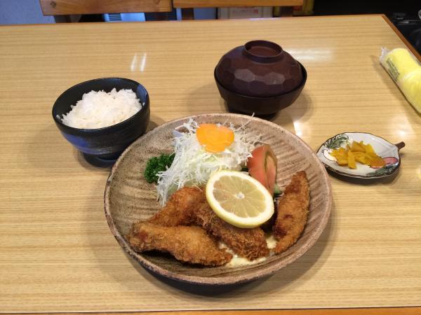 カキフライ定食4