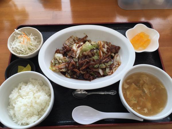 回鍋肉定食4
