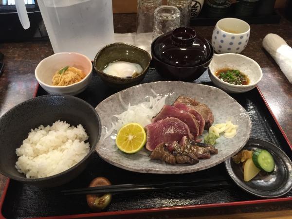 鰹わら焼き定食4
