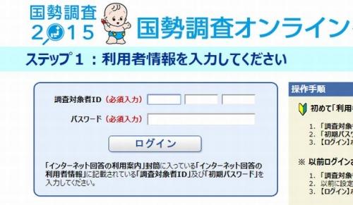 国勢調査2