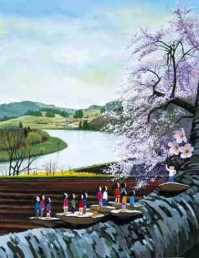 桜ステージ