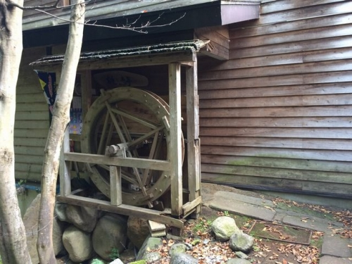 2015-10-17桃の木亭水車
