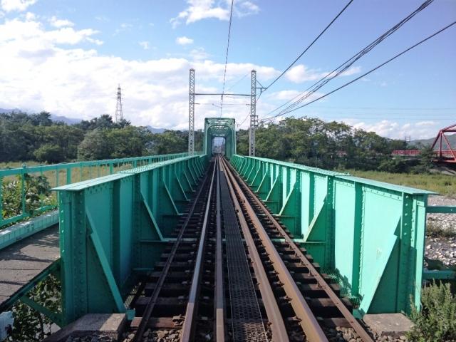 穂高川橋梁