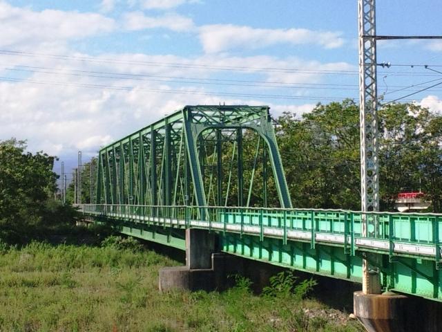 穂高川橋梁 (2)