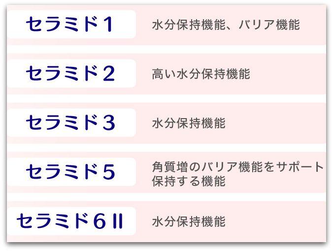 エバーリリークレンジング 5種類のヒト型セラミド配合