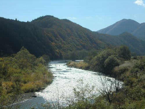 002赤石渓流