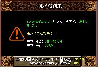 15.9.2Seven☆Stars様 結果