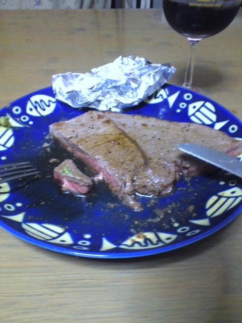 オージー牛ももステーキ