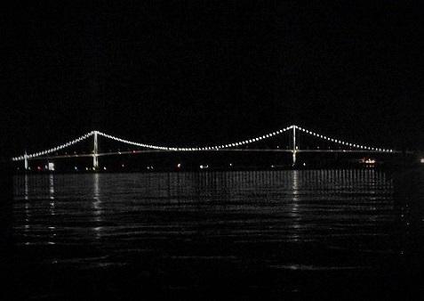 白鳥大橋逆側