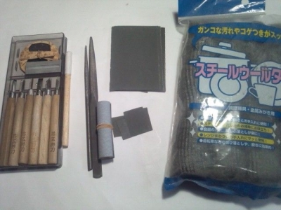 スキャロップド加工の道具の準備
