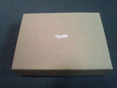 VARCO REAL WOOD 革製カードケース4