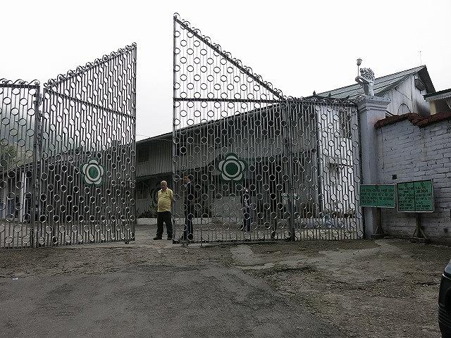マカイバリ茶園正門