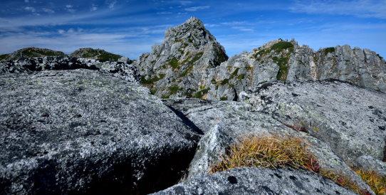 花崗岩の殿堂・宝剣岳