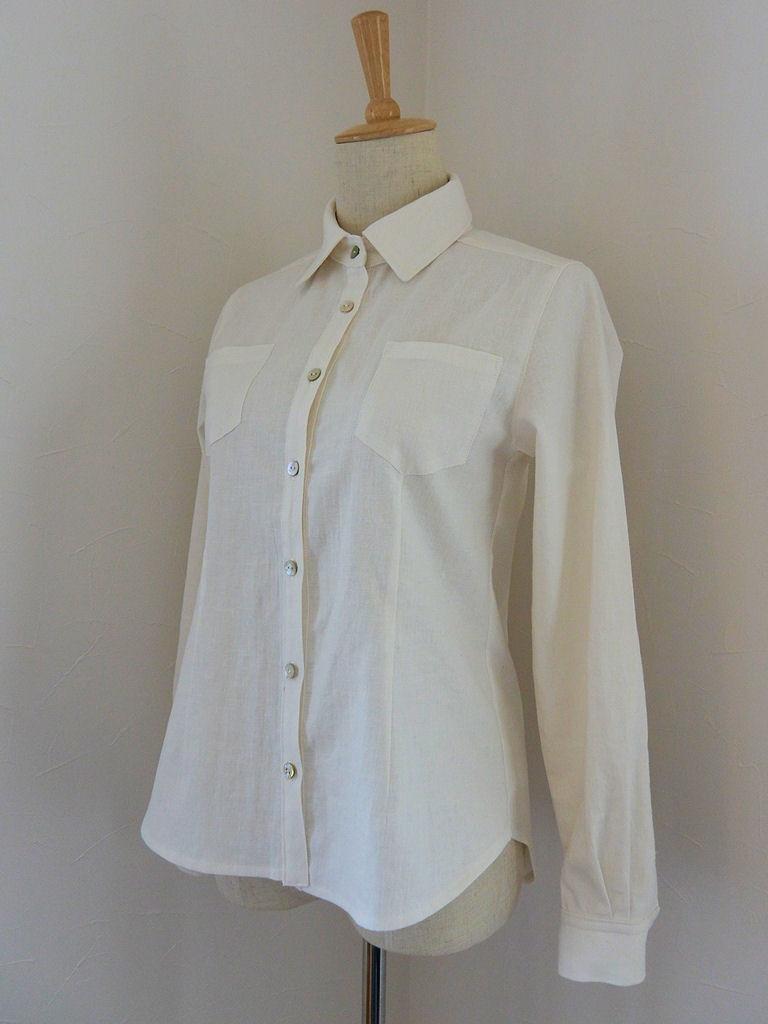 白シャツ1