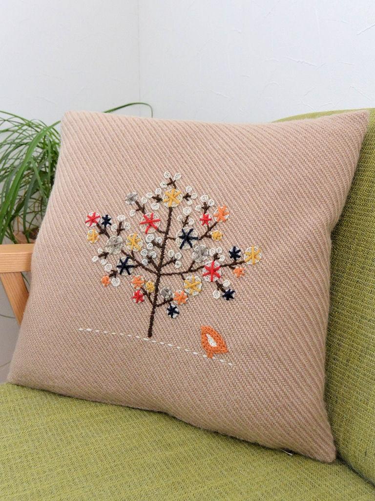 ウール刺繍3