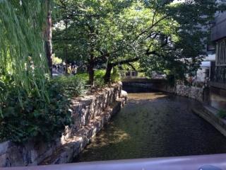歩いて木屋町高瀬川