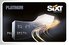レンタカーのSixt Platinum Card会員へのステータスマッチ