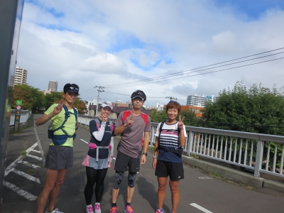 2015年9月20日北広往復ラン