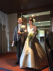 のり、まいこ結婚式