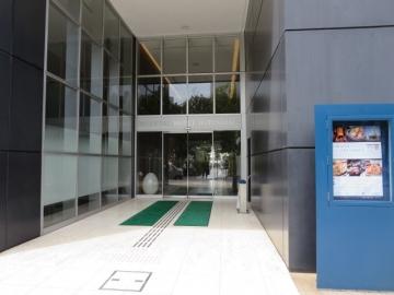 オリエンタルホテル入口