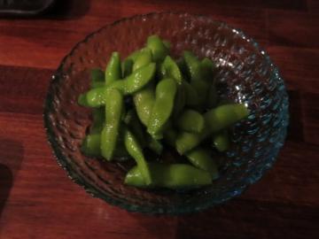昆布塩枝豆 250円