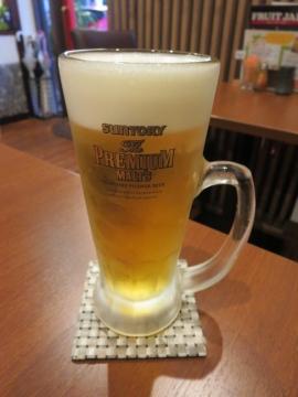 生ビール中(ザ・プレミアムモルツ) 490円