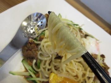 ツルツルの生麺