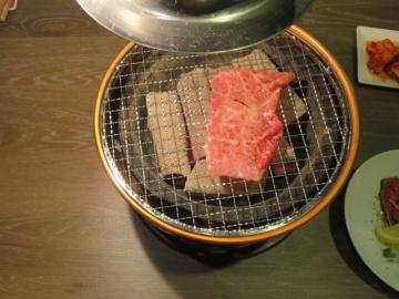 生シルクロース、片面焼き