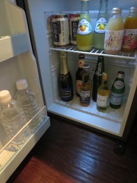 冷蔵庫内はフリードリンク