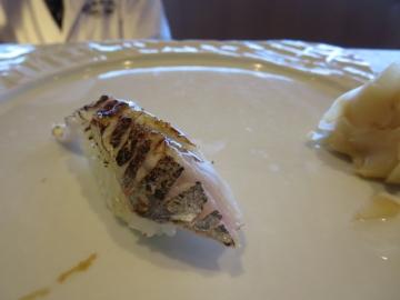 太刀魚炙り