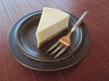 ご一緒したマダムはチーズケーキを