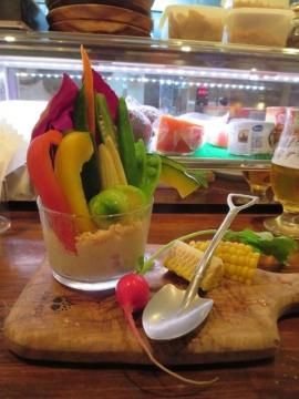 こだわり野菜たっぷりバーニャ畑 900円