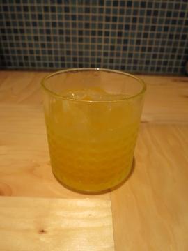 マンゴー梅酒 太陽のたまご 550円