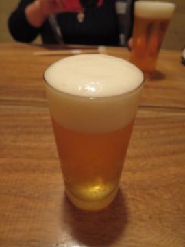 生ビール(小) 500円