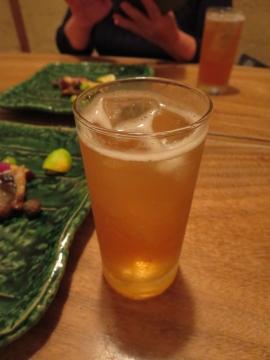 自家製梅酒ソーダ割 650円