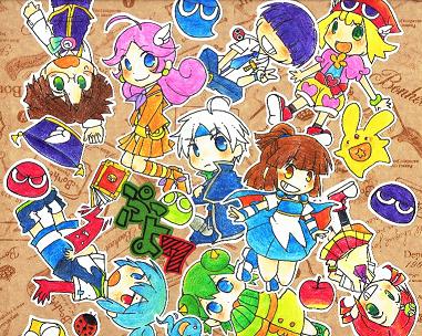 ぷよ色紙1