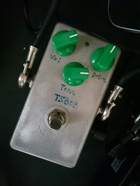 自作のTS-808(艶あり4558搭載)