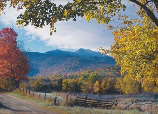 バーモントの秋の写真