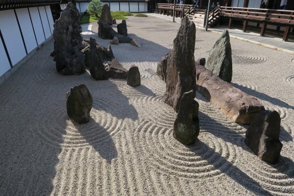 方丈庭園の石庭