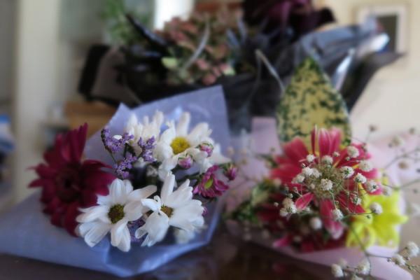 コップの花束